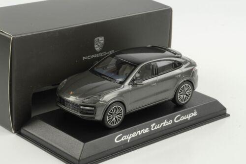 Porsche Cayenne TURBO S Coupé Gris Métallique 2019 1:43 Norev Wap Dealer