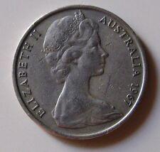 20 Australia Elisabetta II Ornitorinco 1967   n. 1107