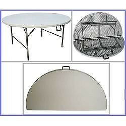 ROUND FOLDING TABLE 180 (10-12 SEATER)
