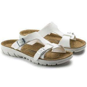 Details zu Birkenstock Damen Sandale Professional SOFIA 263133 BF weiß Weichbett schmal