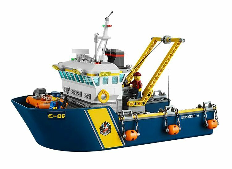 LEGO ® City 60095 Deep sea exploration vessel neuf emballage emballage emballage d'origine _ New MISB NRFB 8a39e2