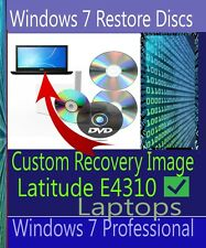Windows 7 recovery disc for Dell Latitude E4310 Laptop