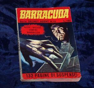 BARRACUDA N° 10 MERONI 1967 OTTIMO SETTE KILLERS CONTRO BARRACUDA - Italia - BARRACUDA N° 10 MERONI 1967 OTTIMO SETTE KILLERS CONTRO BARRACUDA - Italia