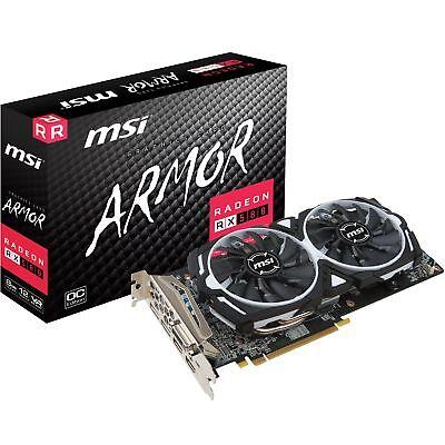 MSI Radeon RX 580 ARMOR 8G OC, Grafikkarte