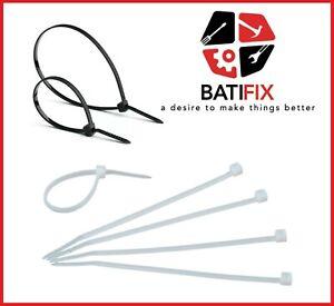 KABELBINDER-Industriequalitat-schwarz-weis-EU-Ware-Kabel-Binder-UV-bestandig