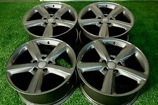 20'' Audi Q7 2007-2015 TITANIUM GUNMETAL Factory OEM   Wheels Rims SET of 4