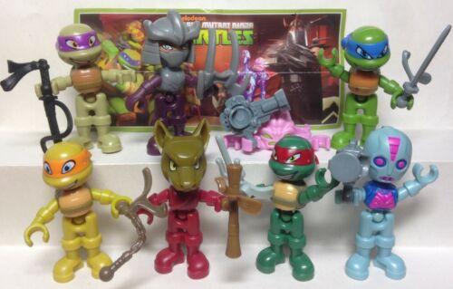 Kinder Surprise Series eenage Mutant Ninja Turtles 2017 SE281-SE286 1 BPZ