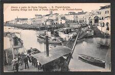AZORES / ACORES,  SAO MIGUEL, View of Ponta Delgada & Landing Bridge