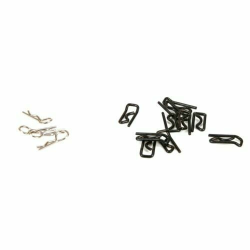 4 NEW LOSI 1//5 Desert Buggy XL Body Clip // Large /& Small 10 LOS256005