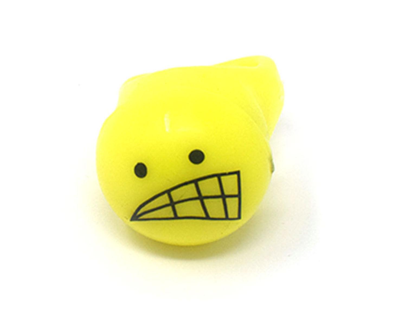 48 48 48 Lustiges Gesicht Blitzlicht Led Gelee Ringe Aufleuchtend Finger Partybeutel 2c38e2