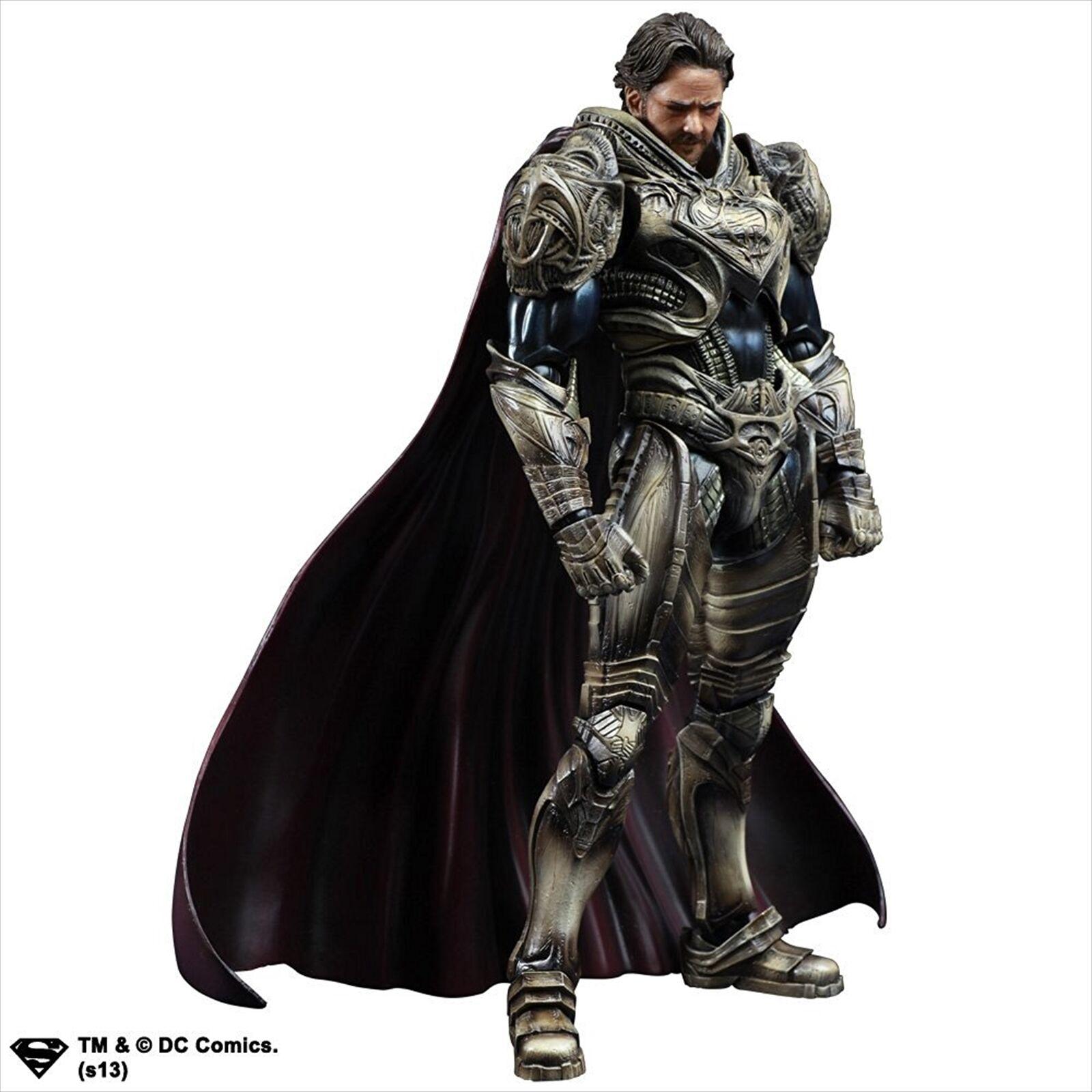 SQUARE ENIX Superman MAN OF STEEL Play Arts Kai Jor-El PVC Figure