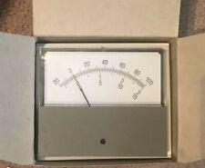 Ge Two Way Radio Test Meter Off Center Scale 10 0 50 Ua For Ge Amp Motorola