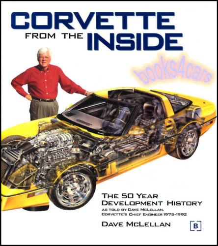 CORVETTE BOOK INSIDE FROM MCLELLAN DAVE C4 LT5 ZR1 ZORA