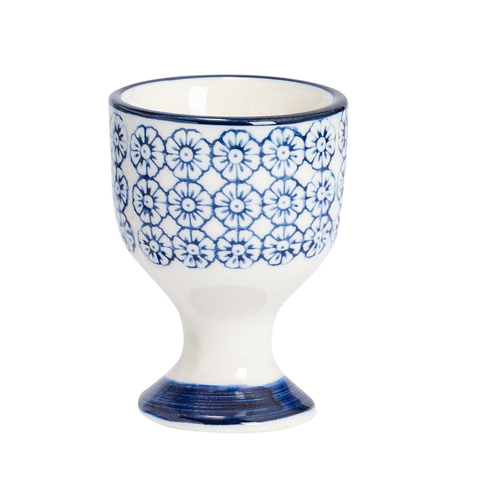 Polka Splodge Egg Cup Shabby Chic Spotty Spring Home Decor Tableware Gift