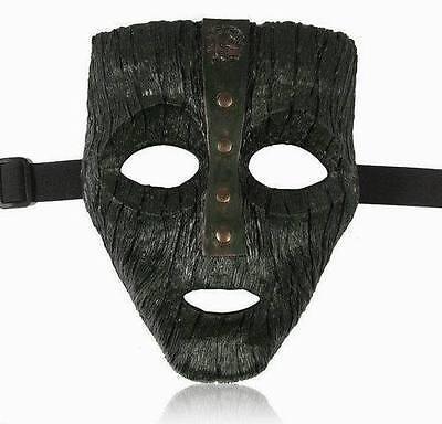 T08 Resin Loki Mask Jim Carrey The God of Mischief Movie Replica Props Halloween