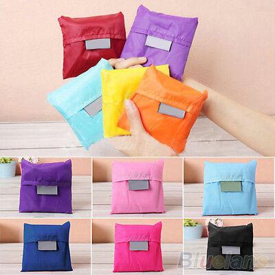 Fashion Reusable Folding Shopping Bag Travel Bag Grocery Bags Shopper Tote B12U