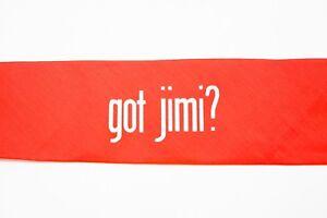 Jimi-Hendrix-034-Got-Jimi-034-Orange-Head-Band-Woodstock-Rock-and-Roll-Halloween