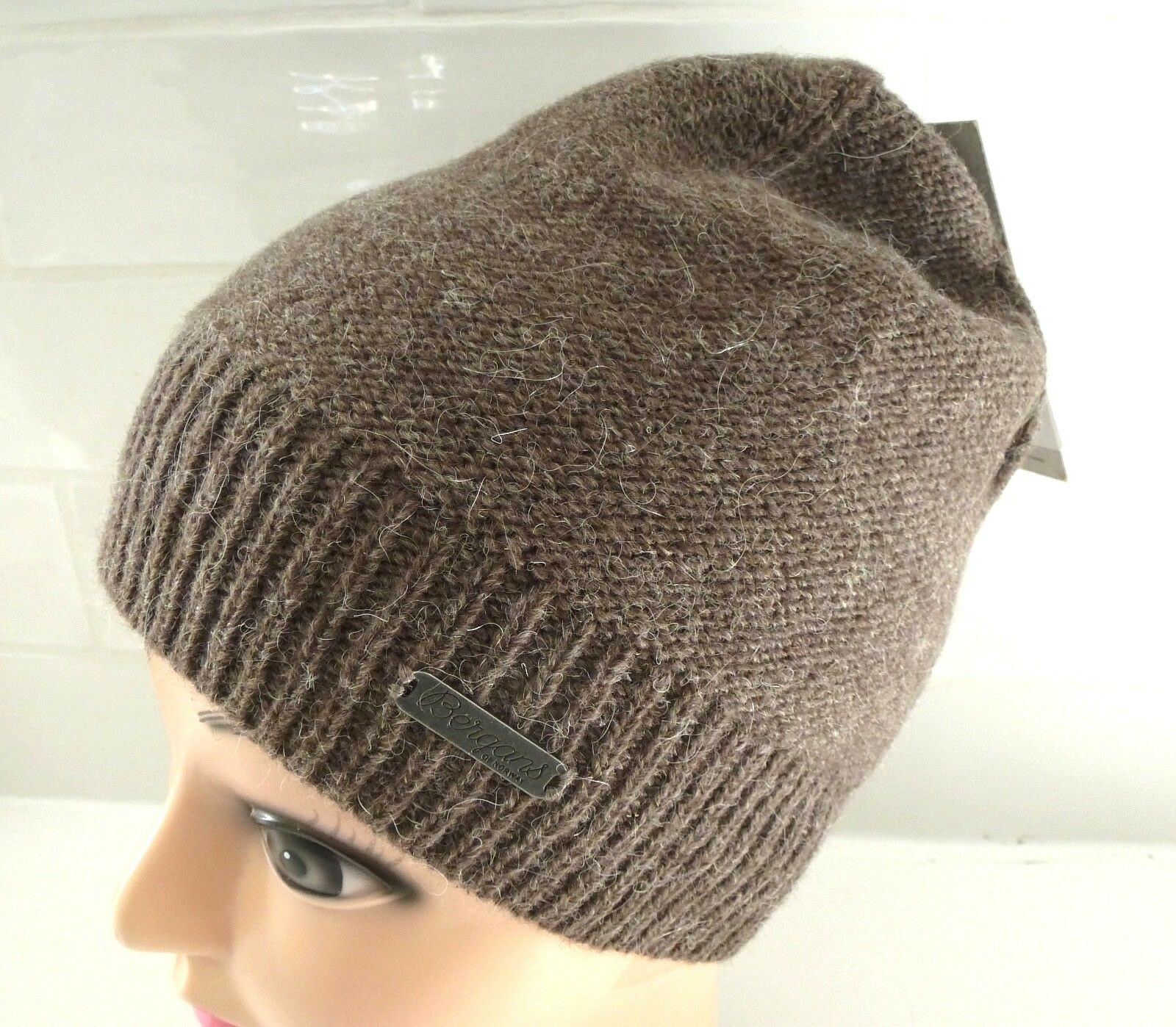 BERGANS of NORWAY Wool   Alpaca  CLAY MELANGE Beanie Toque Hat UNISEX Tags  good reputation