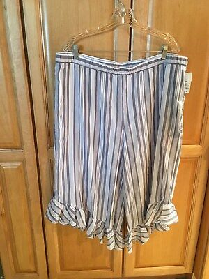 Sleepwear & Robes Diplomatic Gillian & O'malley Pajama Bottoms Lounge Pants 100% Tencel Stripes Xs Free Ship To Suit The PeopleS Convenience
