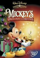 MICKEY'S ONCE UPON A CHRISTMAS DVD Mickey Mouse Micky Disney New UK Release