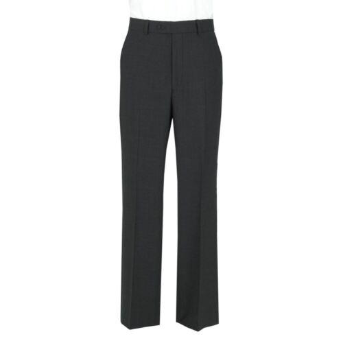 Gris Scott Hombre Corte Pantalones Carbón Liso Clásico wqZ7Iq