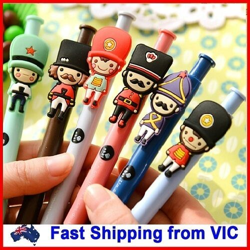 British Soldier Ball Pen Novelty Kids School Office Gift Cute Cartoon Stationery