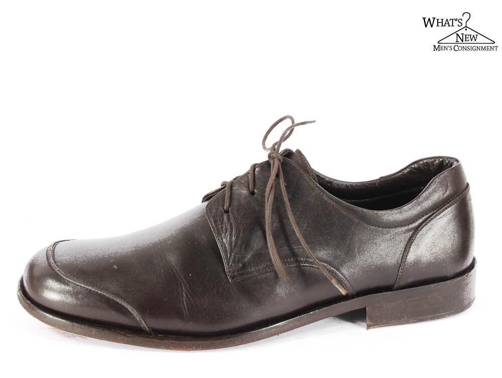Via Spiga Espresso Brown Leather Oxfords shoes Sz. 13 D