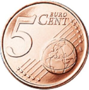 5c-Euro-Coins-1999-to-Date-Various-Countries-Various-Dates-See-Listing
