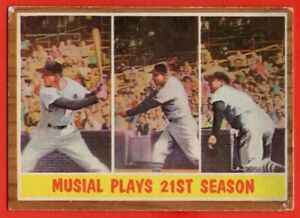 1962-Topps-317-Stan-Musial-IA-VG-VGEX-WRINKLE-St-Louis-Cardinals-FREE-SHIP