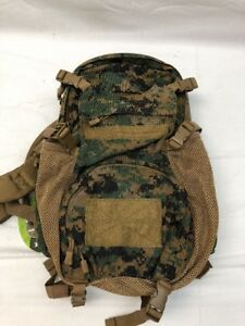 Details about Eagle Industries Woodland Digital Beavertail Assault Pack MOD  Yote Backpack USMC