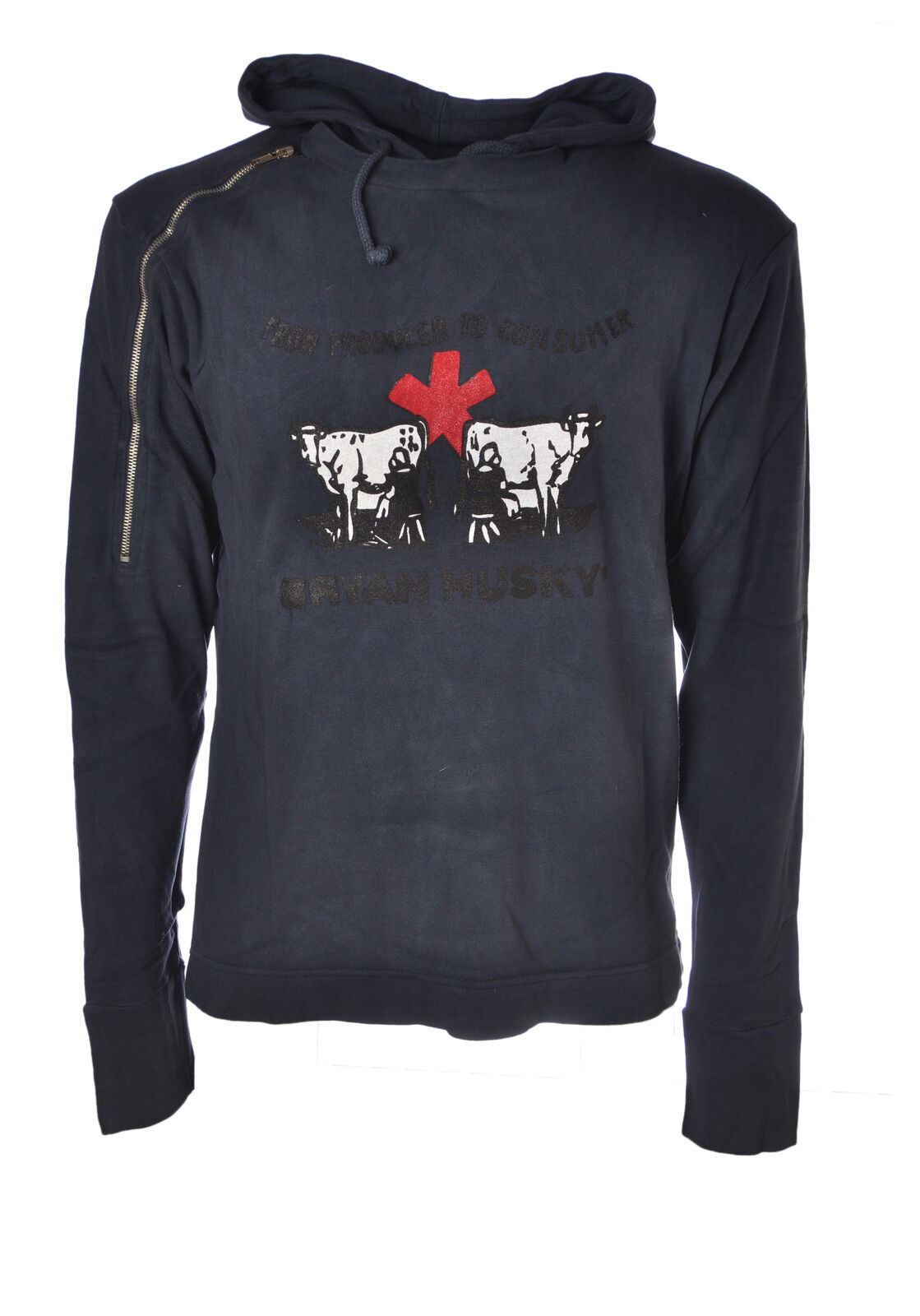 Bryan Sweatshirts Husky  -  Sweatshirts Bryan - Männchen - Blau - 4544223A184128 10519c