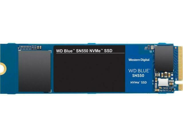 WD Blue SN550 250 GB alto rendimiento M.2 Pcie NVMe SSD