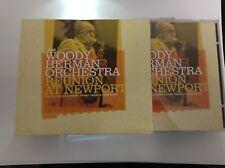 Woody Herman - Reunion at Newport (Live Recording, 2010) 2 CD -  MINT