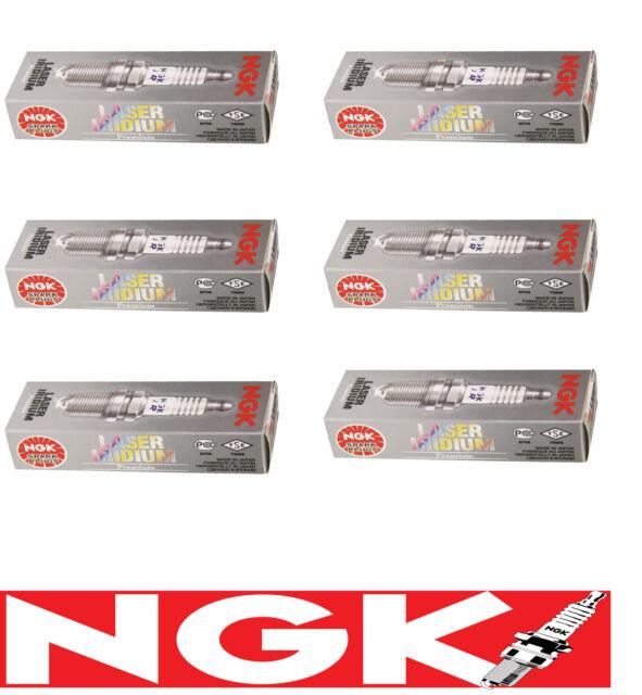 NGK Laser Iridium Spark Plugs FR6EI-11 x 6