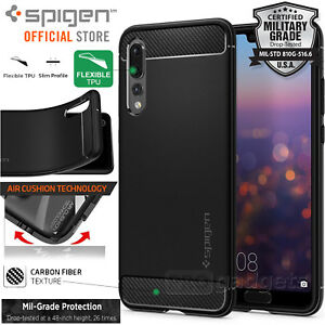 Huawei-P20-Pro-P20-Case-Genuine-SPIGEN-Rugged-Armor-Resilient-Soft-Cover