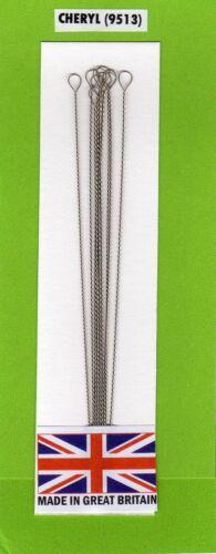 "Beading Needles Big Eye 4/"" length 10 pack   *Free 1st class P/&P*"