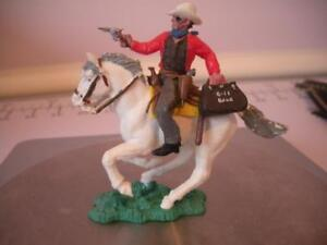 BRITAINS HERALD SWOPPET MOUNTED COWBOY UNBOXED  LOT #7