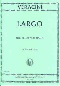 Veracini Largo Pour Violoncelle (arr. Starker)-afficher Le Titre D'origine