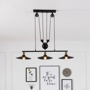 Large-Chandelier-Lighting-Black-Pendant-Light-Home-Lamp-Kitchen-Ceiling-Lights