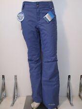 Womens XS-S-M-L-XL Columbia Arctic Trip Insulated Waterproof Ski Snow Pants Blue