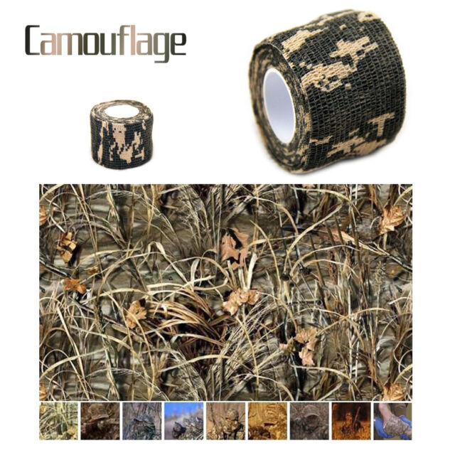 5CMx4.5M Camo Sporting Outdoor Hunting Camping Camouflage Stealth Tape Hot Sale