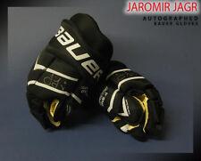 JAROMIR JAGR Signed Bauer Model Gloves - Florida Panthers
