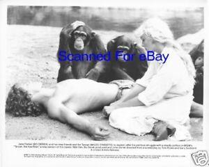 Tarzan 1980 Bo Derek tied to a tree Miles O/'Keefe embraces her 8x10 photo