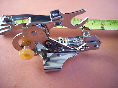 Ruffler Presser Foot Feet Attachment for JANOME Home Low Shank Sewing Machines
