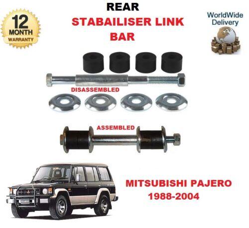 FOR MITSUBISHI PAJERO SHOGUN 2.5TD 2.8TD 3.0i 3.5i 1X REAR STABILISER LINK BAR