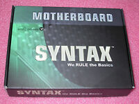 Syntax K7sv266ad Socket A Via Kt266a Atx Motherboard Brand In Retail Box