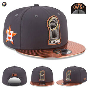 huge discount 7630d f5329 Image is loading Houston-Astros-2017-World-Series-Champions-New-Era-
