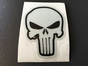 sticker autocollant punisher crane tete de mort casque moto scooter 6 5x5 cm ebay. Black Bedroom Furniture Sets. Home Design Ideas