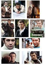 LEWIS COLLINS THE PROFESSIONALS 10 DIFFERENT FRIDGE MAGNETS  BIRTHDAY RIP GIFT