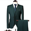 miniature 19 - Mens Suits Sets 3 Pcs Slim Fit Coats Tuxedos Groom Groomsman Formal Work Casual